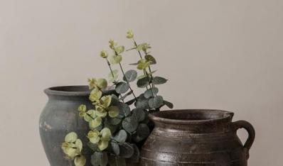 粗陶之小花器