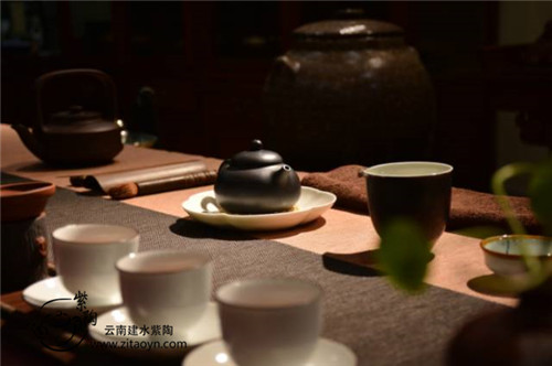 紫陶壶与几大茶类的搭配