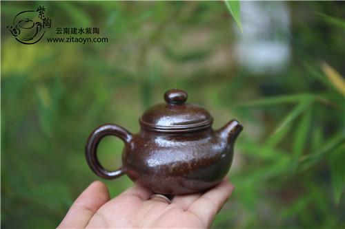 建水紫陶,柴烧壶,茶壶茶垢,清洗茶垢