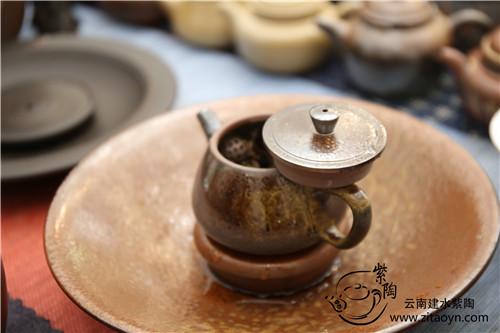 建水紫陶,柴烧壶,紫陶壶,紫陶泡茶,柴烧泡茶