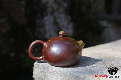 建水紫陶,紫陶壶,紫陶泡茶,柴烧壶,陈朝超紫陶